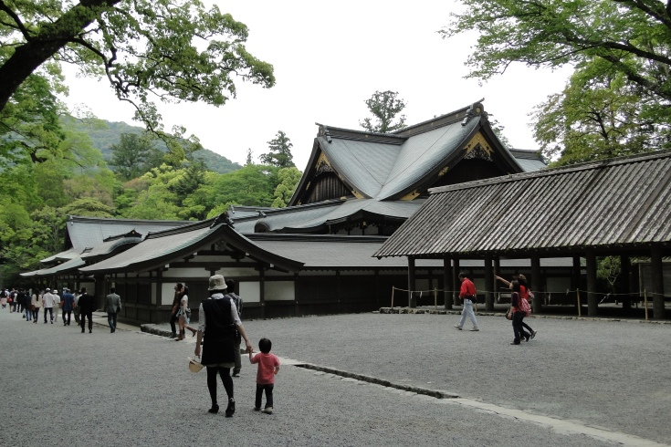Buildings of the Naiku (Inner Shrine)