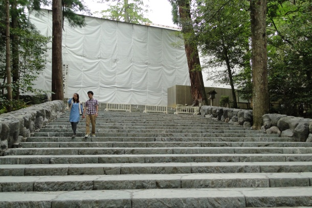 Behind the curtain: The newest iteration of Ise Shrine