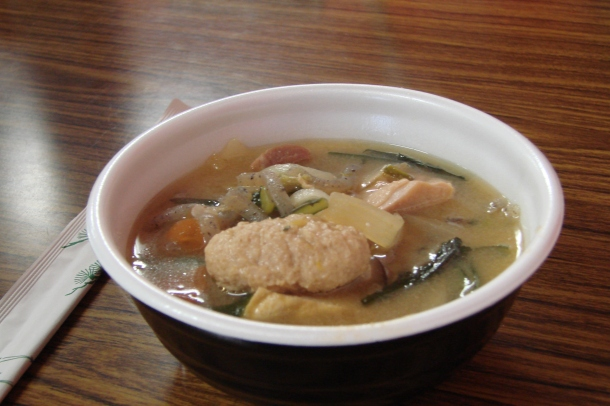 A bowl of chanko nabe