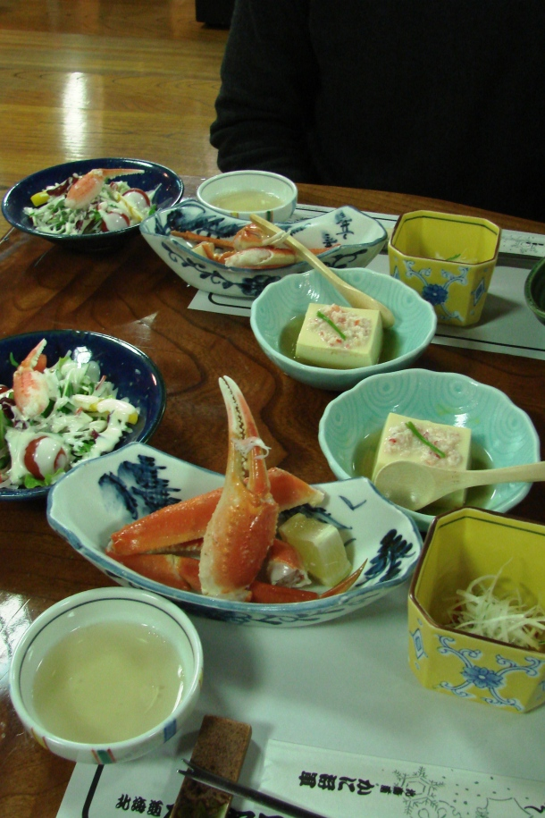 Getting hungry yet? Part of a ten-course crab dinner