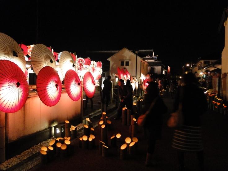An alleyway in Yamaga