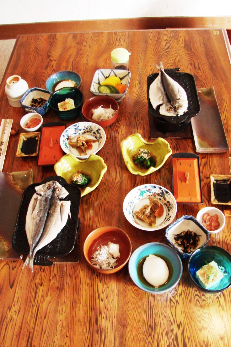 Breakfast at Shuzen-ji's Goyokan