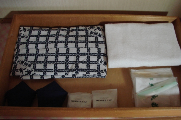 Yukata for guests' use