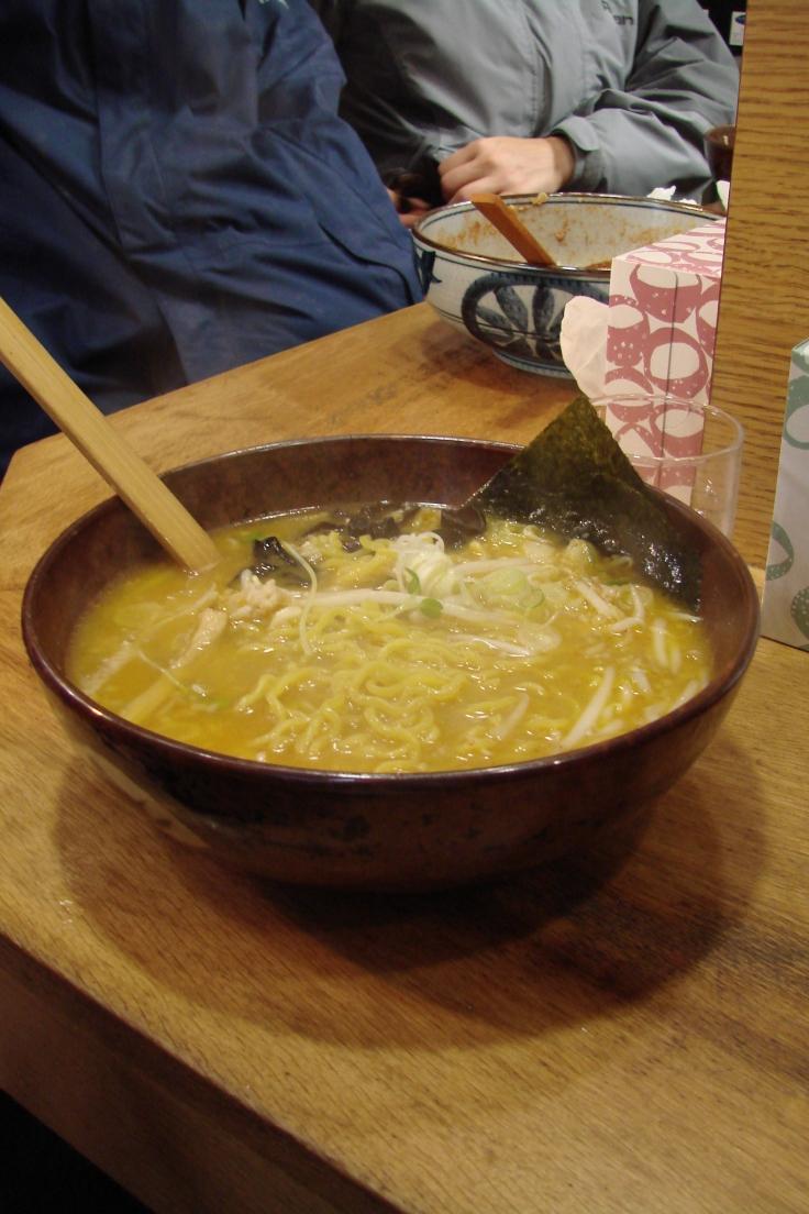 Hokkaido miso ramen