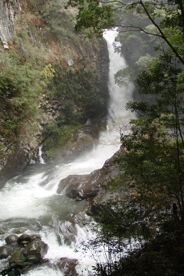 A waterfall at Kawazu Nanadaru