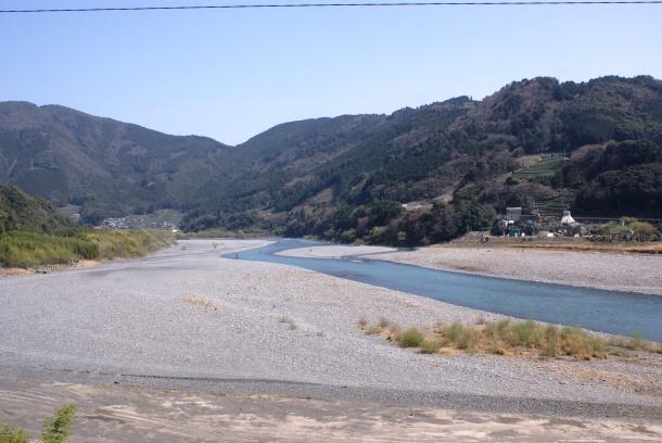 The Oi River just outside Kanaya