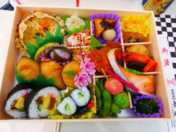 My hanami party bento this year