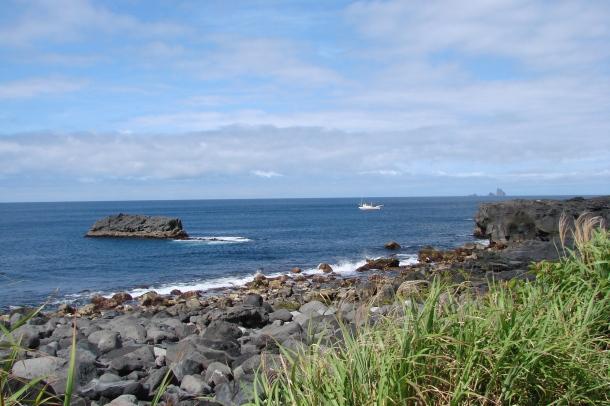 The coast of Miyakejima