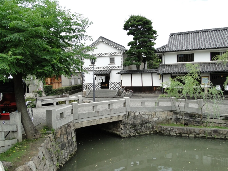 The canal in Kurashiki