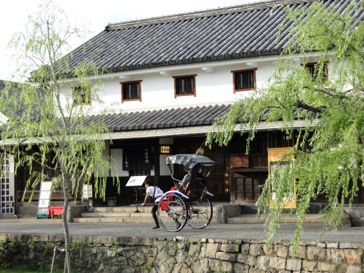 A typical scene in Kurashiki