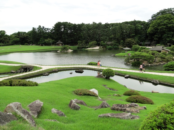 A view of Korakuen Garden