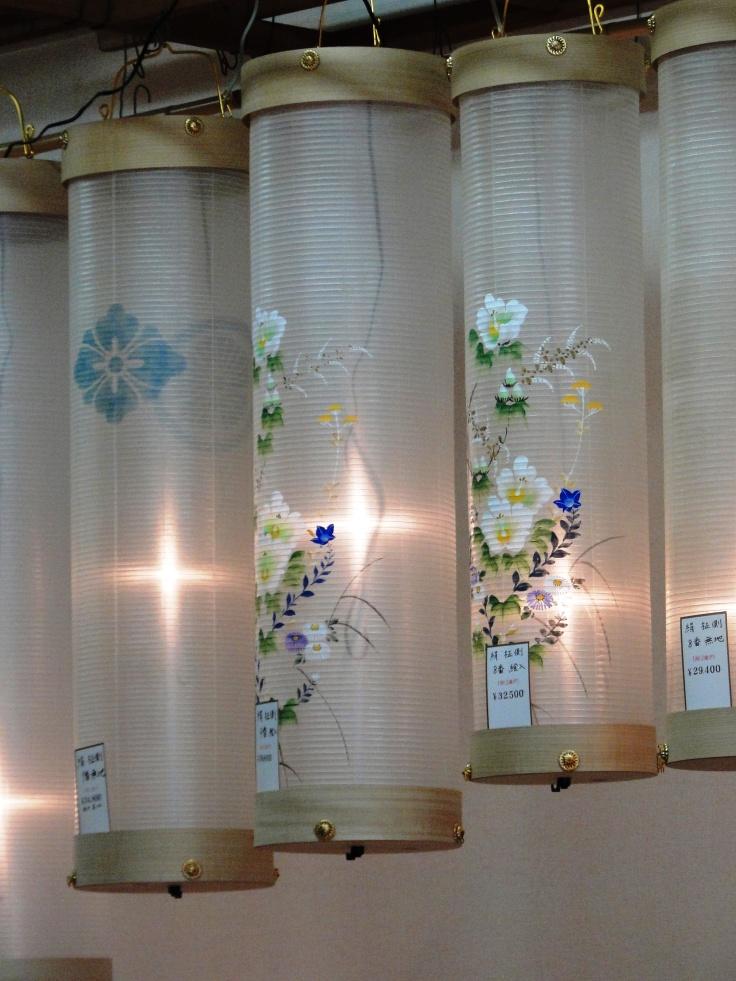 Chochin lanterns