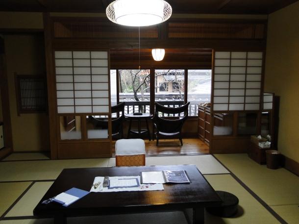 A ryokan room in Kurokawa Onsen