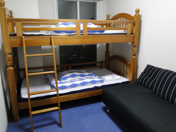 A double room in a K's House Hostel