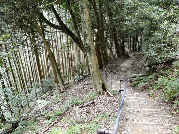 The path from Kurama to Kibune