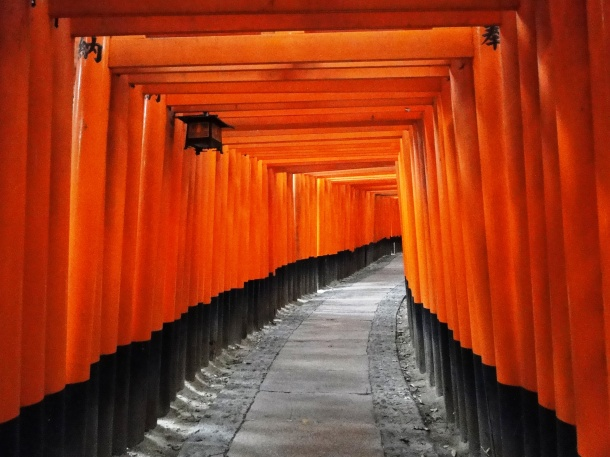The tunnel of torii
