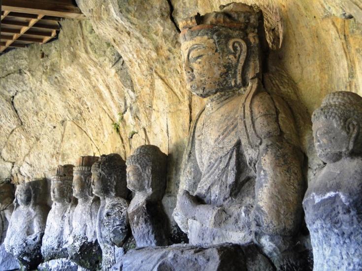 Usuki's stone buddhas