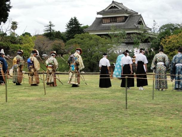 The pre-event religious ceremony