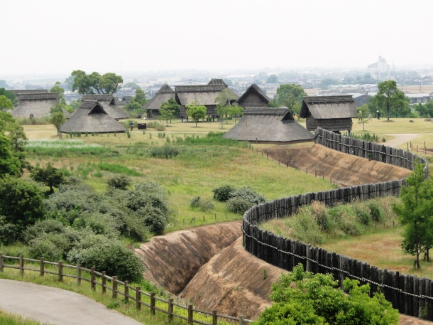 Just one small section of the Yoshinogari Historical Park