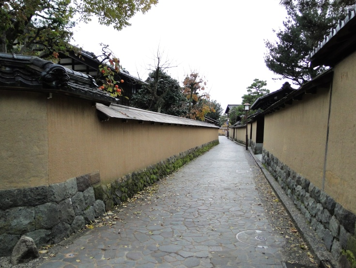 Cobbled streets of the Nagamachi District