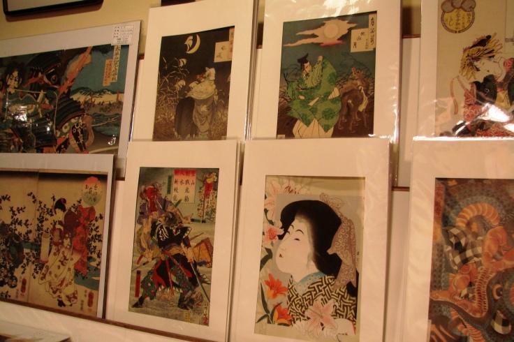 Ukiyo-e for sale in Inuyama