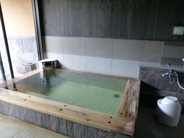 A reservable family bath