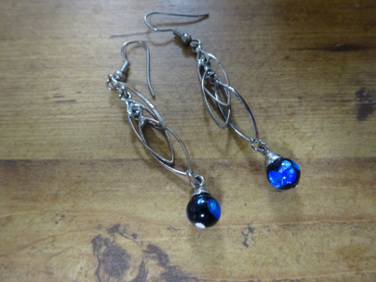 Hotaru Ishi glass earrings