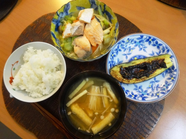 Our miso-based meal
