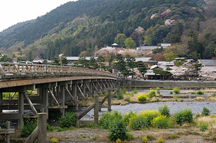 Togetsukyo Bridge (Source: Wikimedia ... I can't believe I never took my own picture of this bridge!!)