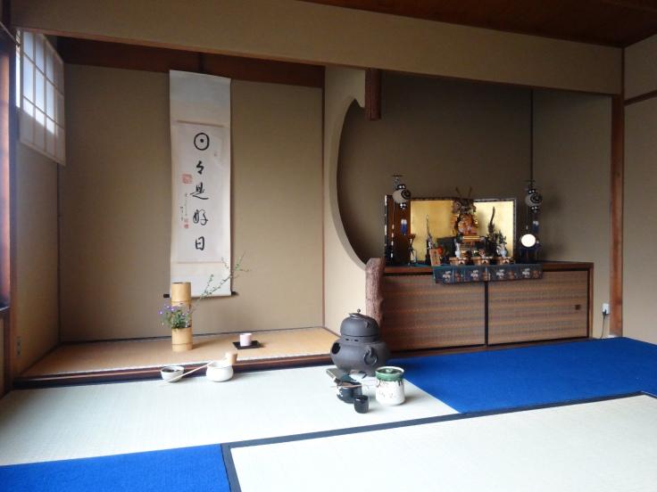 Inside Camellia Tea House