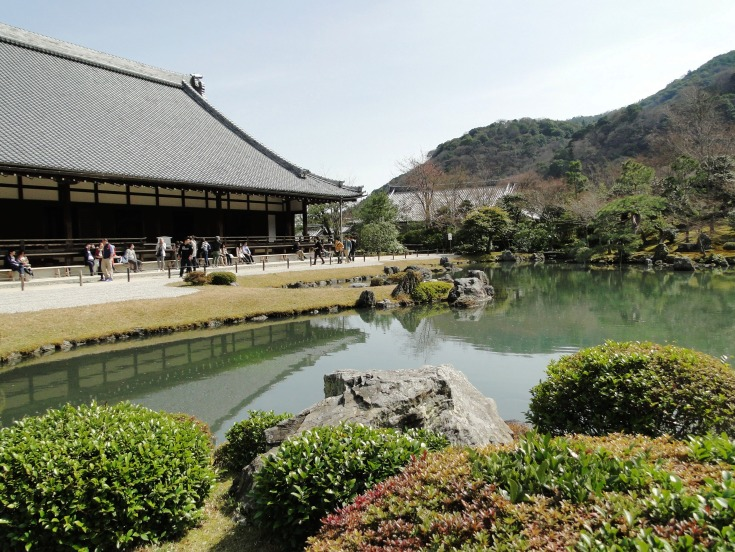 The garden at Tenryu-ji