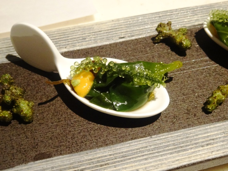Sea grape appetizer
