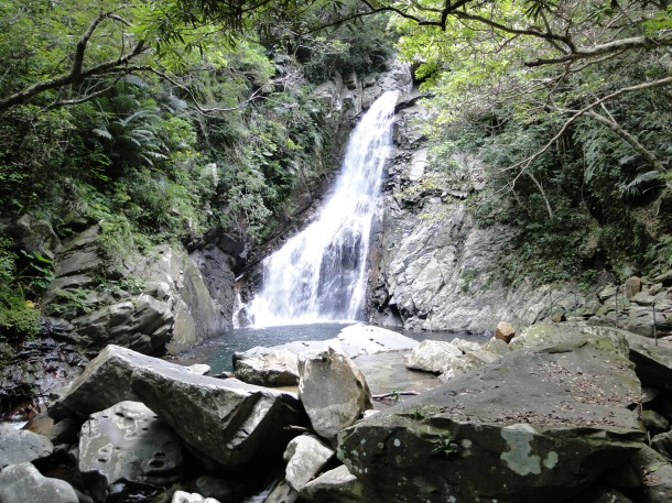 Hiji Falls in northern Okinawa