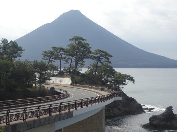 Mt Kaimon in Kagoshima Prefecture