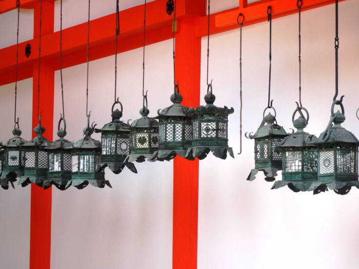 Lanterns at Kasuga Shrine