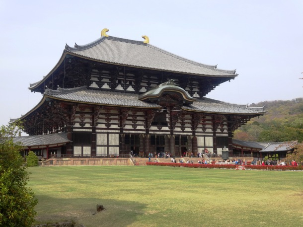 Todai-ji's massive main hall
