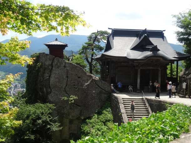The Yamadera temple complex