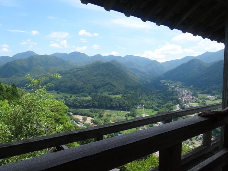 The view from Godai-do