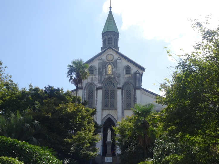 Oura Church at the base of Nagasaki's Glover Garden