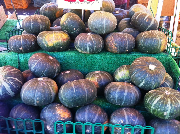 Kabocha at a Japanese market