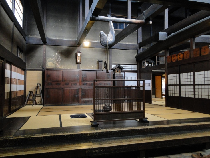 Interior of the Kusakabe Museum