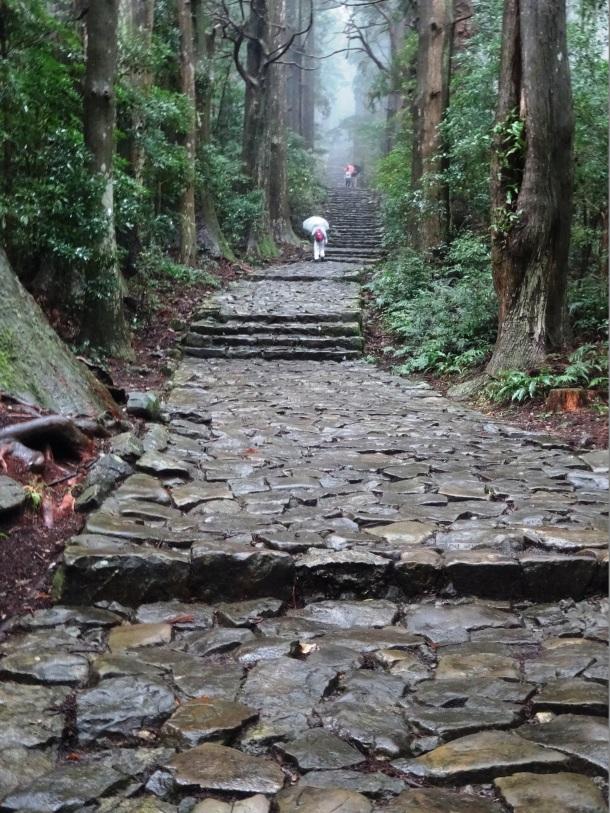 Daimonzaka stairs near Nachi Taisha