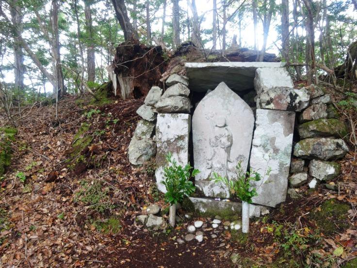 Nabeware jizo statue