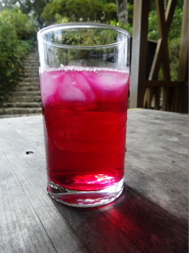 Red shiso juice