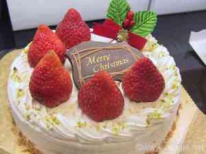 Christmas cake, Japanese style