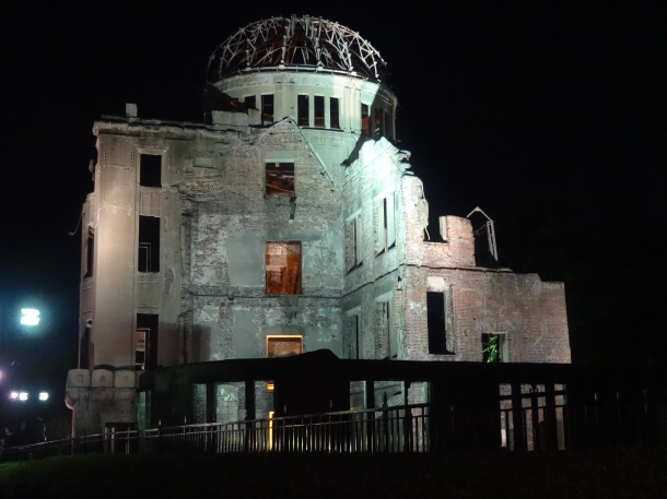 The A-Bomb Dome in central Hiroshima