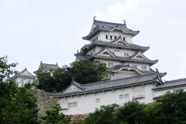 Himeji Castle, as it looked before its recent restoration