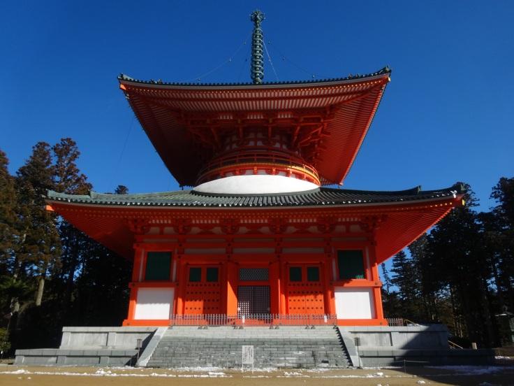 The main pagoda in the Garan temple complex