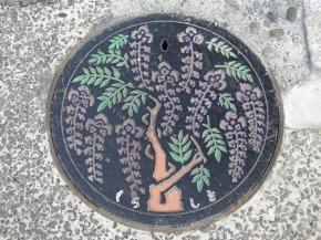 Manhole Monday: Kurashiki