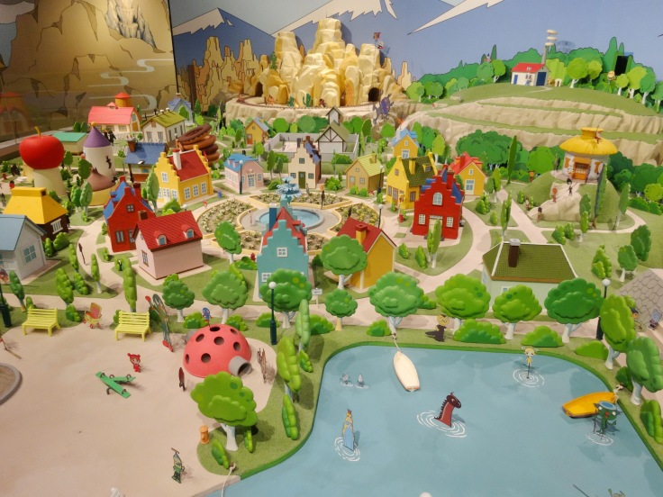 The Anpanman model village